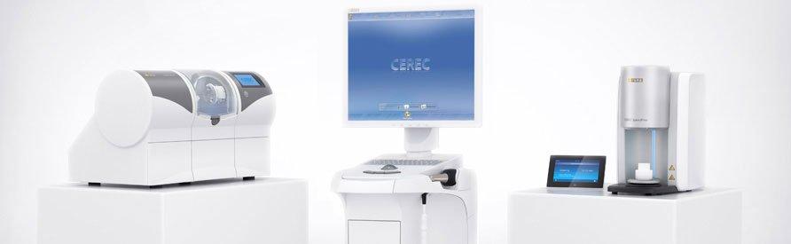 cerec dental crown machine